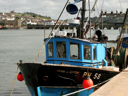 Fishing Boat at Bideford